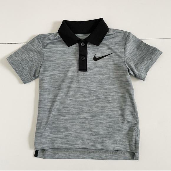 Nike Dri Fit Polo Shirt Short Sleeve Boys